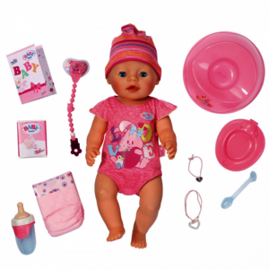 Zapf Creation - Baby Born - Interactive Girl Puppe