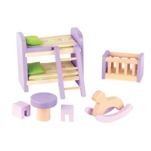 The Toy Company - Puppenhausmöbel - Kinderzimmer