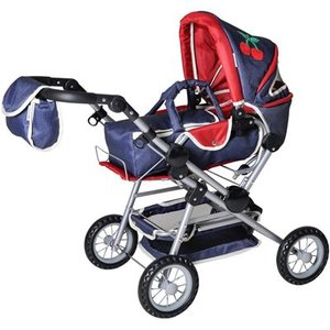 knorr toys - Puppenkombi - Twingo S - denim and red