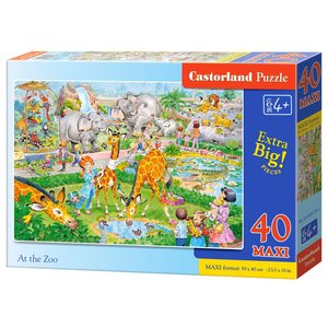 Castorland - At the Zoo Puzzle - 40 Teile maxi (B-040179-1)