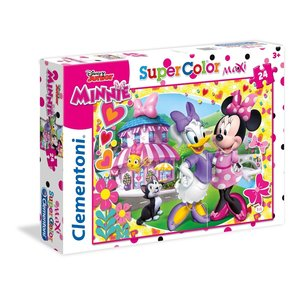 Clementoni - 24480 - Minnie Happy Helpers - Maxi Puzzle - 24 Teile