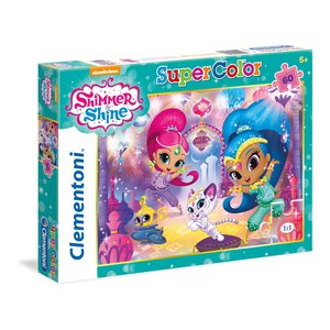 Clementoni - 26969 - Shimmer und Shine Puzzle - 60 Teile