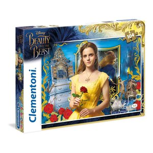Clementoni - 27989 - Puzzle 104 The Beauty And The Beast