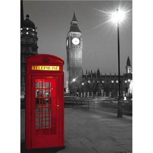 Clementoni - High Quality, 500 Teile Puzzle - London Phone box