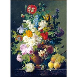 Clementoni - High Quality Puzzle Museum Collection, 1000 Teile - Van Dael: Blumenvase