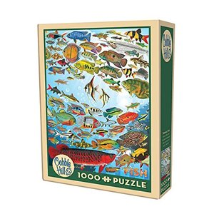 Cobble Hill - 51794 Puzzles - Tropical Fish