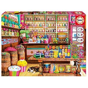 Educa - 17104.0 - 1000 The candy shop Puzzle