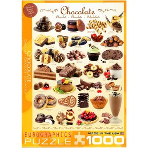 Eurographics - Jigsaw Puzzle - 1000 Pieces