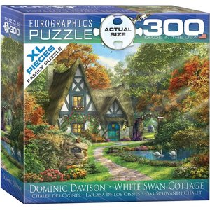 Eurographics - White Swan Cottage Puzzle (300)