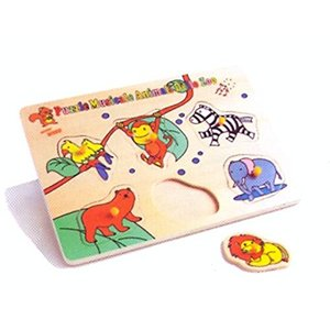 FAB Distributions - Musical Puzzle - Zoo