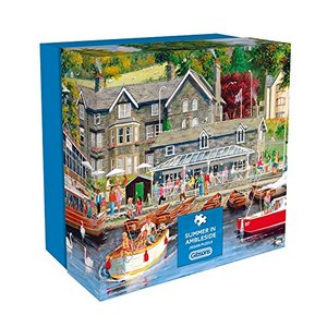 Gibson Games - Sommer in Ambleside Puzzle (500 Teile)