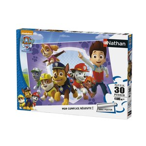 Nathan-Puzzle Pat - 86355Patrol to the Rescue Set - 30-teilig