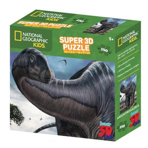 National Geographic - ng10810 - Kids Super Argentinosaurus - 3D Puzzle (150-tlg.)