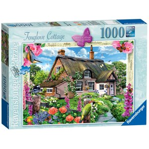 Ravensburger - Country Cottage Collection Foxglove Cottage Puzzle (1000 Pieces)