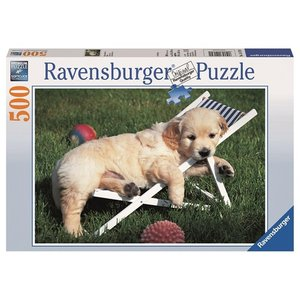 Ravensburger - Golden Retriever, 500 Teile