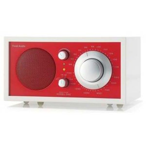 Tivoli Audio Model One Weiß, Rot