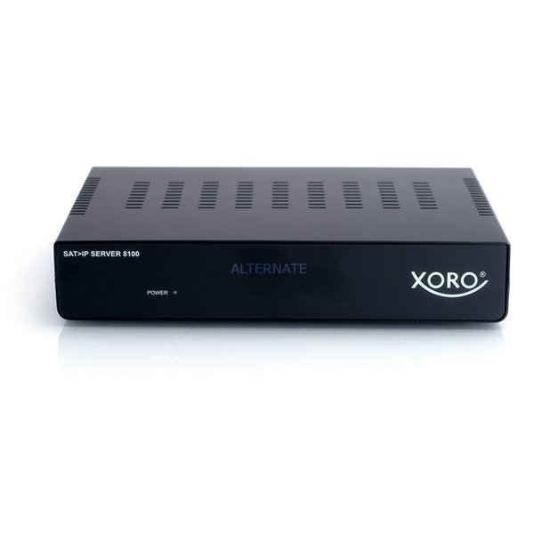 Xoro SAT>IP Server 8100 Streaming-Client, schwarz