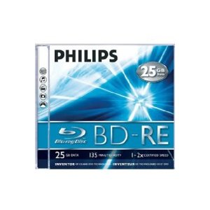 Philips BE2S2J05C-00 BD-RE Rohlinge 2x 25GB 5er Jewel Case