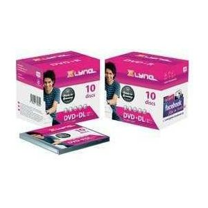 XLYNE DVD+R DL Double Layer Rohlinge (8,5 GB, 8x Speed, 10er Jewel Case)