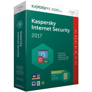 Kaspersky Internet Security 2017 + Android Security (Code in a Box) (PC)