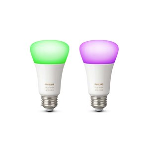 Philips Hue White and color ambiance E27, Doppelpack