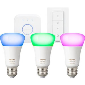 Philips HUE White & Color LED E27 3er Starterpack (4 Gen.)