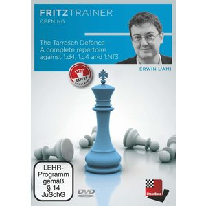The Tarrasch Defence - A complete repertoire against 1.d4, 1.c4 and 1.Nf3, 1 DVD-ROM (PC)