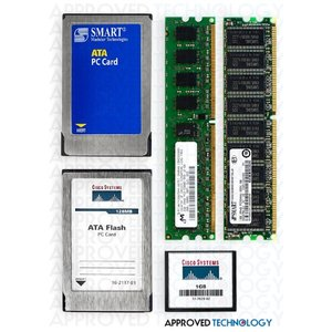 Approved Technology 64MB Cisco Compatible Compact Flash card for Cisco Catalyst 4000/4500 Series MEM-C4K-FLD64M-C
