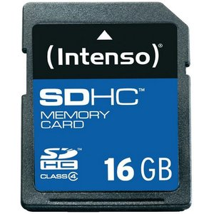 Intenso Secure Digital Card SDHC 16384MB (3401470)