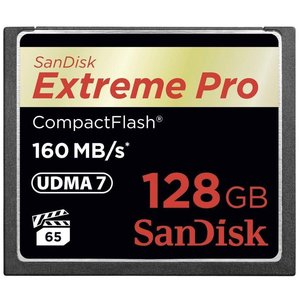 Sandisk 128GB Extreme Pro CF 160MB/s (SDCFXPS-128G-X46)