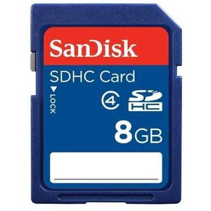 SanDisk Sdhc Secure Digital 8 GB, Class 4