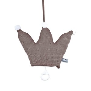 Babys Only - Spieluhr Krone 22 x 30 cm - Cable taupe