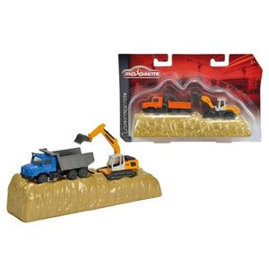 Dickie - Majorette - Construction Play Set, 2-sort.