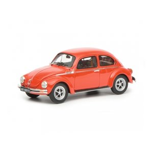 Schuco - VW Käfer 1600-S Super Bug, rot, 1:43