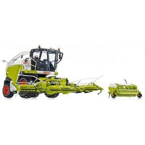 Wiking - 7812 Claas Jaguar 860 Feldhäcksler mit Orbis 750 und Pick up 300