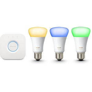Philips Hue White and Color E27 Starter Set inkl. Bridge