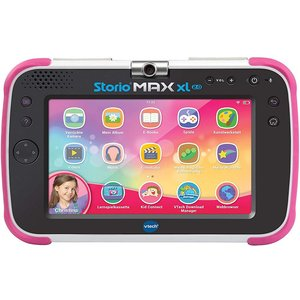 Vtech Storio Max XL 2.0 SD-Auflösung 7 Zoll, WiFi-Tablet, 8 GB Speicher, Android, Pink (80-194654)