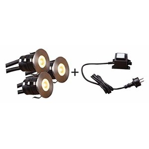 Heissner Smart Light Starter-Set Decklights, Warmweiss