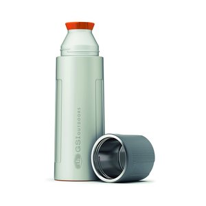 GSI Outdoors 67460 Isolierflasche, Silver, 1 Liter
