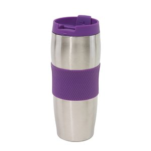Preiswert & Gut Thermobecher To Go AU LAIT Isolierbeche 380ml Becher Coffee to go Farbwahl Lila