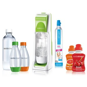 SodaStream Cool Super-Spar-Pack grün