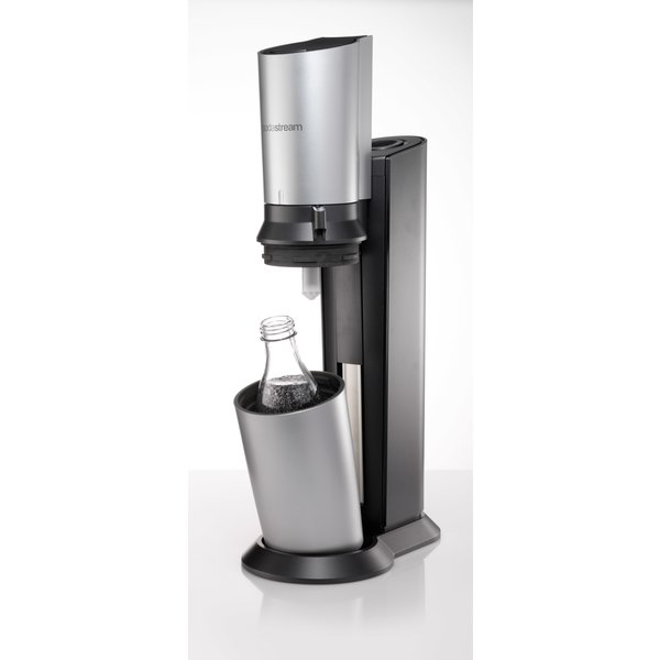 sodastream crystal titan silber tests infos 2018. Black Bedroom Furniture Sets. Home Design Ideas
