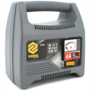 BATTERY CHARGER 12V 4A 56Ah