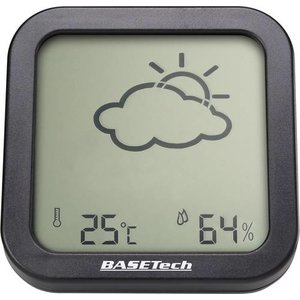 Basetech Thermo-/Hygrometer Anthrazit