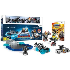Skylanders SUPERCHARGERS - Starter Set (Dark Edition) (Wii)