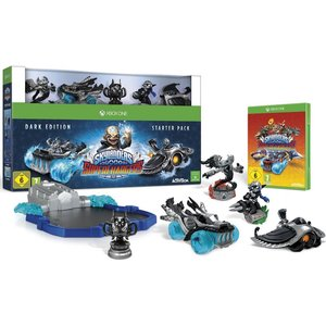 Skylanders SUPERCHARGERS - Starter Set (Dark Edition) (Xbox One)