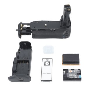 DSTE Professional BG-E9 BGE9 Battery Grip Holder for Canon EOS 60D SLR Digital Camera + Wireless Remote Control + 2pcs LP-E6 Li-ion Battery