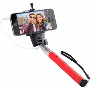 Knox Wired Selfie Stick (rot)