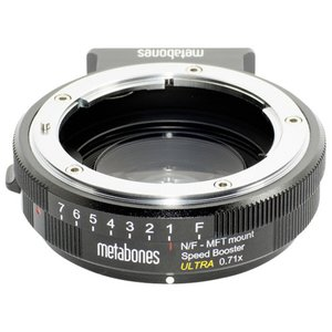 METABONES MB_SPNFG-M43-BM3 Nikon G TO MFT Speed Booster Ultra