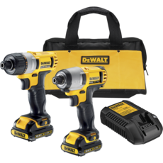 dewalt dck210s2 akku kombopack 10 8 v test akkuschrauber. Black Bedroom Furniture Sets. Home Design Ideas